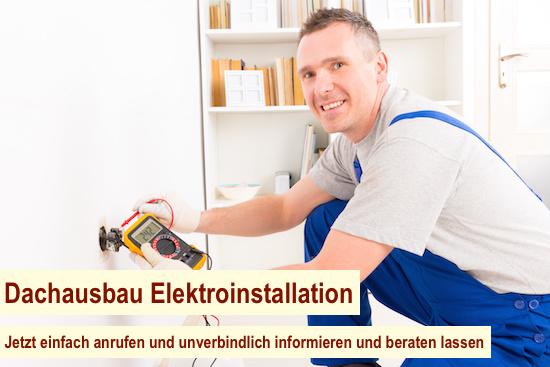 Dachausbau Elektroinstallation Berlin