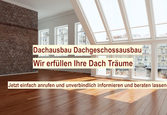 Dachausbau planen Berlin