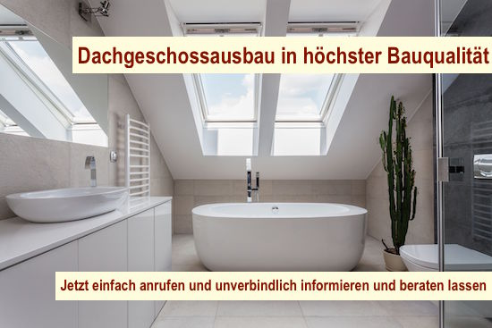 Dachgeschossausbau Berlin - Dach ausbauen