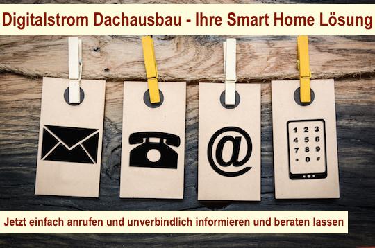 Digitalstrom Dachausbau Berlin