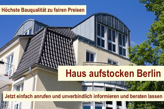 Haus aufstocken Berlin