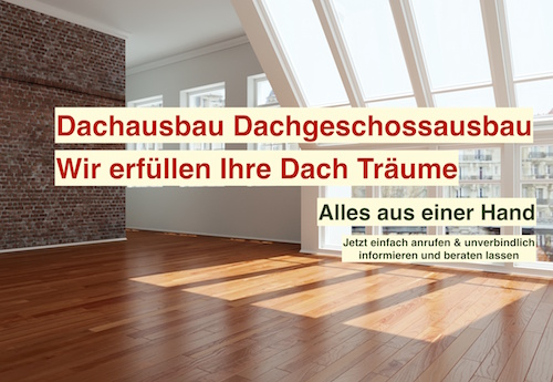 Ratgeber Dachausbau Berlin