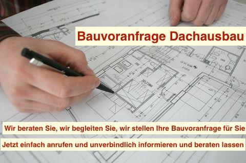 Bauvoranfrage Dachausbau Berlin