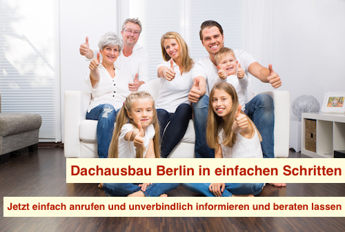 Dachausbau Berlin in einfachen Schritten