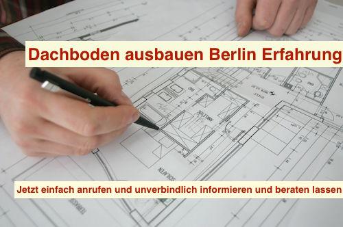 Dachboden ausbauen Berlin Erfahrung