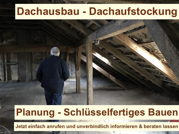 Dachausbau Berlin - Dachgeschossausbau - Dachaufstockung Brandenburg